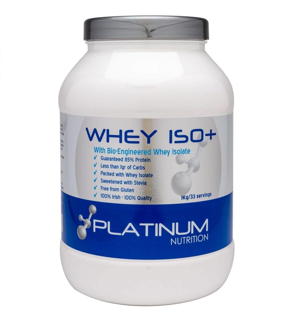 Platinum Nutrition – Whey ISO + – 1kg
