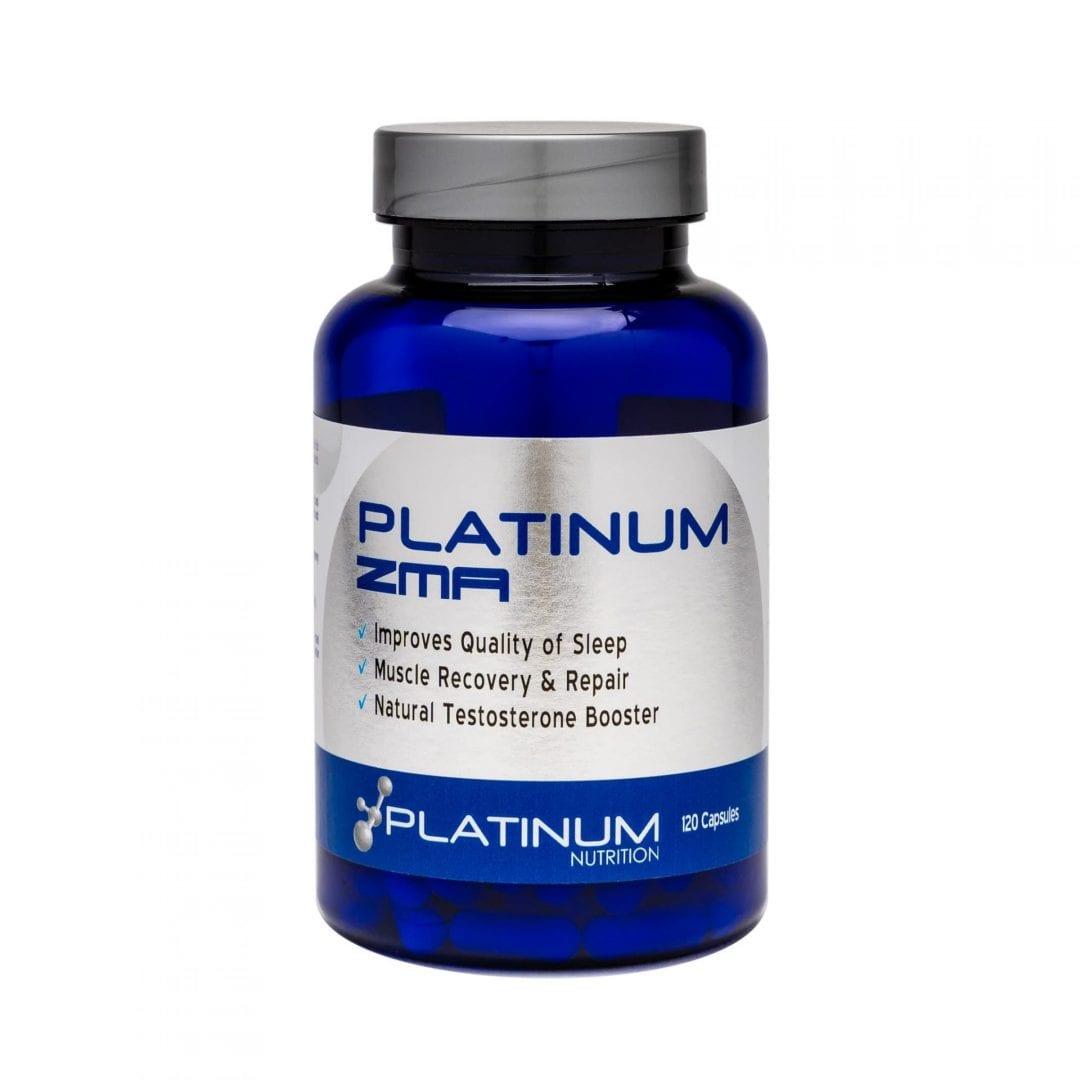 Platinum Nutrition – ZMA -120 caps