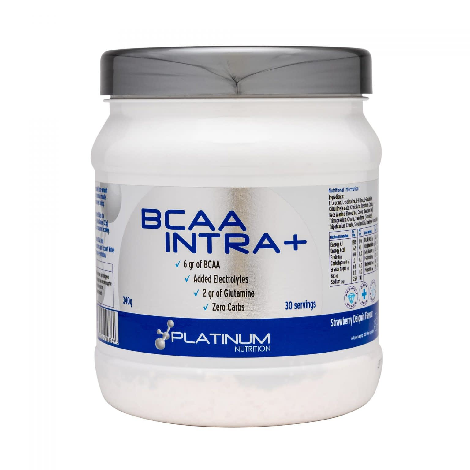 Platinum Nutrition – BCAA Intra + – 30 servings New Item
